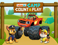 Nick Jr Camp Count and Play