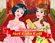 Princesses at Met Gala Ball