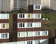 Épület Tetris