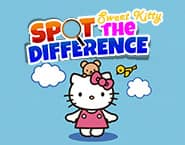 Sweet Kitty Spot The Difference